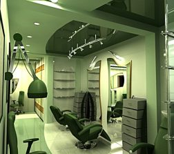 Дизайн-проект перукарні 3